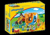 Конструктор 1.2.3 Зоопарк Playmobil 9377