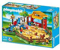 Конструктор Контактний зоопарк і фігурка в подарунок Playmobil 4851