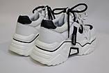 Кроссовки женские, белые. Білі жіночі кросівки., фото 3