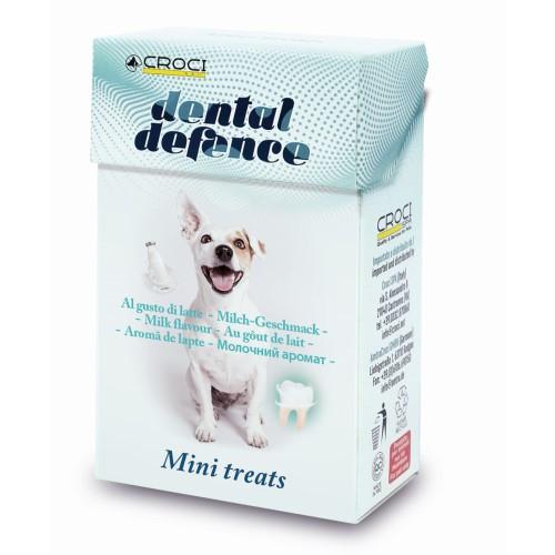 Лакомство для собак DENTAL DEFENCE TREAT, защита зубов, молоко, 35гр, 20 пач./короб