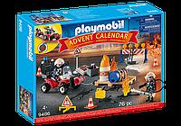 Адвент-календар: Пожежно-рятувальна служба Playmobil 9486