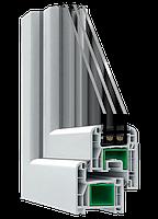 Окна энергосберегающие четырех камерные Steko S 400