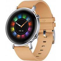 Смарт-часы Huawei Watch GT 2 42mm Gravel Beige Classic Edition (Diana-B19V) (55024475)