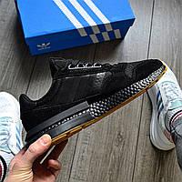Стильные кроссовки Adidas ZX 500 RM,  'Black Gum', фото 1