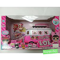 Набор LOL, куколки, автобус, артикул НС211064