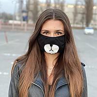 Защитная маска черная Panda
