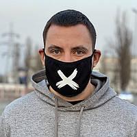 Защитная маска черная Cross
