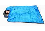 Спальник KingCamp Oasis 250(KS3121) (blue,правая), фото 3