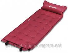 Самонадувающийся коврик KingCamp Base Camp XL(KM3559) (wine red)