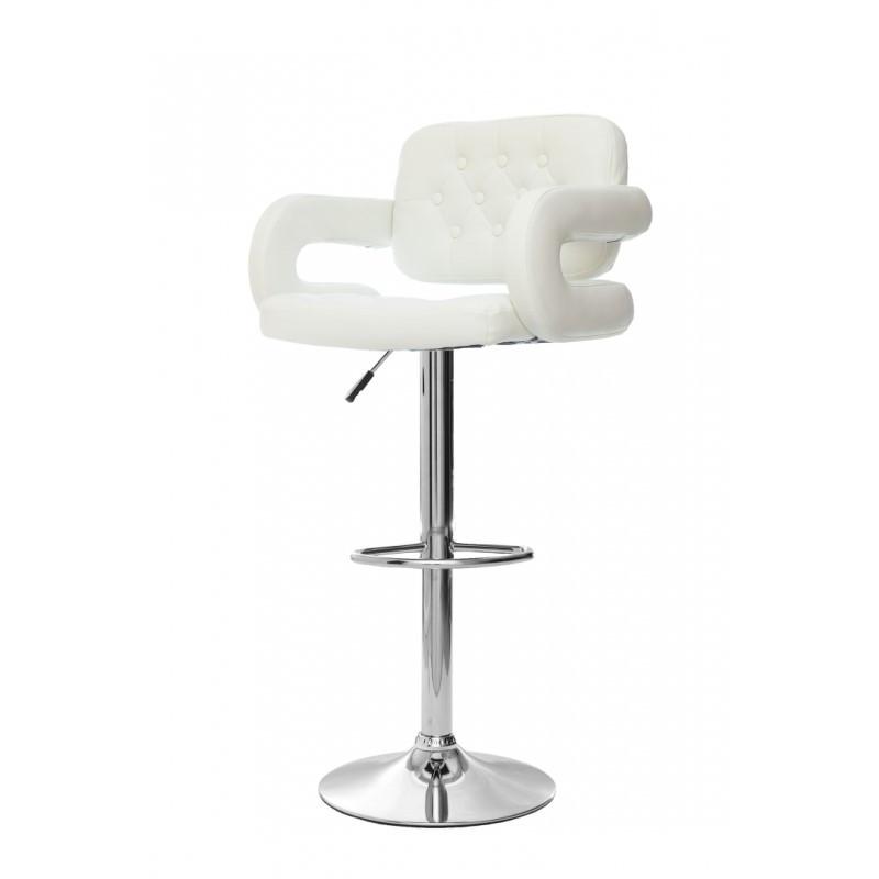 Барный стул Hoker VINCI. Цвет белый.