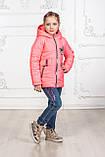 Куртка для девочки цвет коралл, фото 2