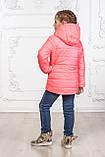Куртка для девочки цвет коралл, фото 8
