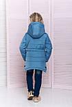 Удлиненная куртка для девочки, фото 3