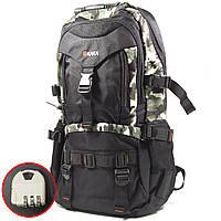 Большой рюкзак для путешествий KAKA 2020 D Camouflage туризма водостойкий с большим отделением карманами