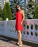 Сарафан женский летний норма красного цвета, фото 3