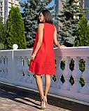 Сарафан женский летний норма красного цвета, фото 4
