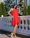 Сарафан женский летний норма красного цвета, фото 5