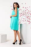 Женский сарафан летний норма бирюзового цвета, фото 2