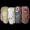 """Перчатки женские шерстяные однотонные 14-19 лет """"Корона"""" двойные с натуральным бомбоном, фото 2"""