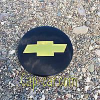3D наклейка для дисков Chevrolet. 65мм ( Шевролет )