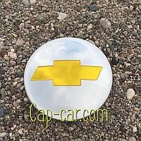 3D наклейка для дисків Chevrolet. 65мм ( Шевроле )