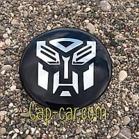 3D наклейка для дисков Transformers Chevrolet. 65мм ( Шевролет )