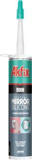 Нейтральный силиконовый герметик для зеркал Akfix 900N (310 ml), фото 2