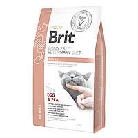 Корм для кошек Brit GF VetDiet Renal (при заболеваниях почек), 2 кг
