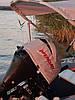 Чехол на капот лодочного мотора MERCURY F 9.9 M (4) серый до 2017 года