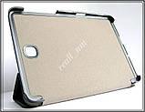 Красный кожаный Smart tri-fold case чехол-книжка для планшета Samsung Tab S2 8.0 T710 T715, фото 4