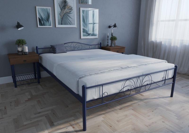Кровать двуспальная металлическая Лара Люкс TM Melbi