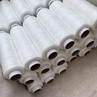 Нитки швейные 40/2 (330 м) белые, Турция