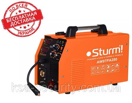 Сварочный инверторный полуавтомат Sturm AW97PA280, фото 2