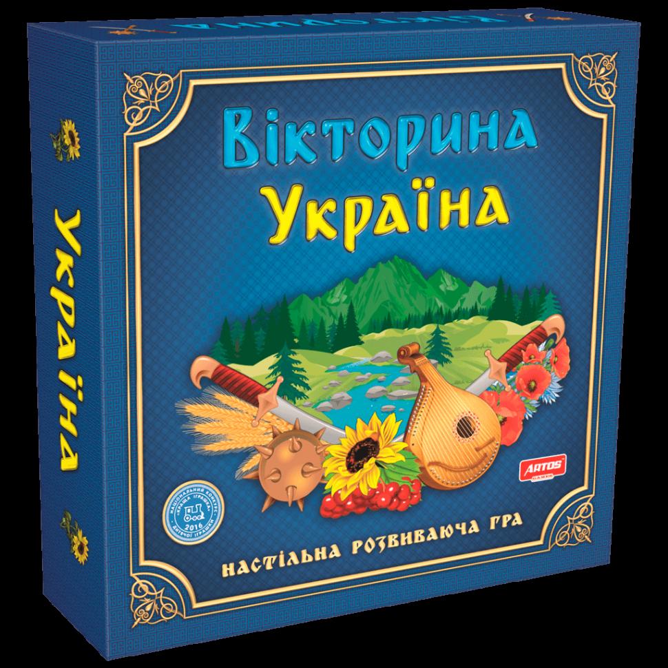 """Настольная игра """"Викторина Украина"""" 0994"""
