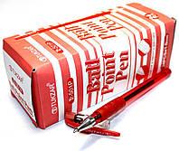 """Ручки шариковые """"Tianjiao"""" TY-501P (24шт/уп) красные"""