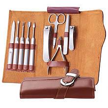 Профессиональный маникюрный набор Manicure & Pedicure 10 в 1 из нержавеющей стали