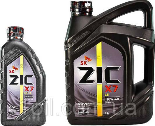 Масло моторное Zic X7 LS (ранее было A+) 10w-40 4л