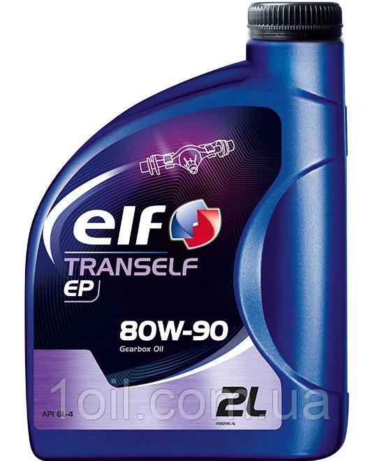 Масло трансмиссионное ELF Tranself EP GL-4 80W90 2l