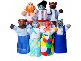 """Ляльковий театр """"Пан Коцький"""" в коробці 7 персонажів, """"Чуди САМ"""""""