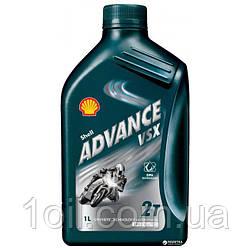 Масло моторное SHELL  Advance VSX 2  2Т   1л