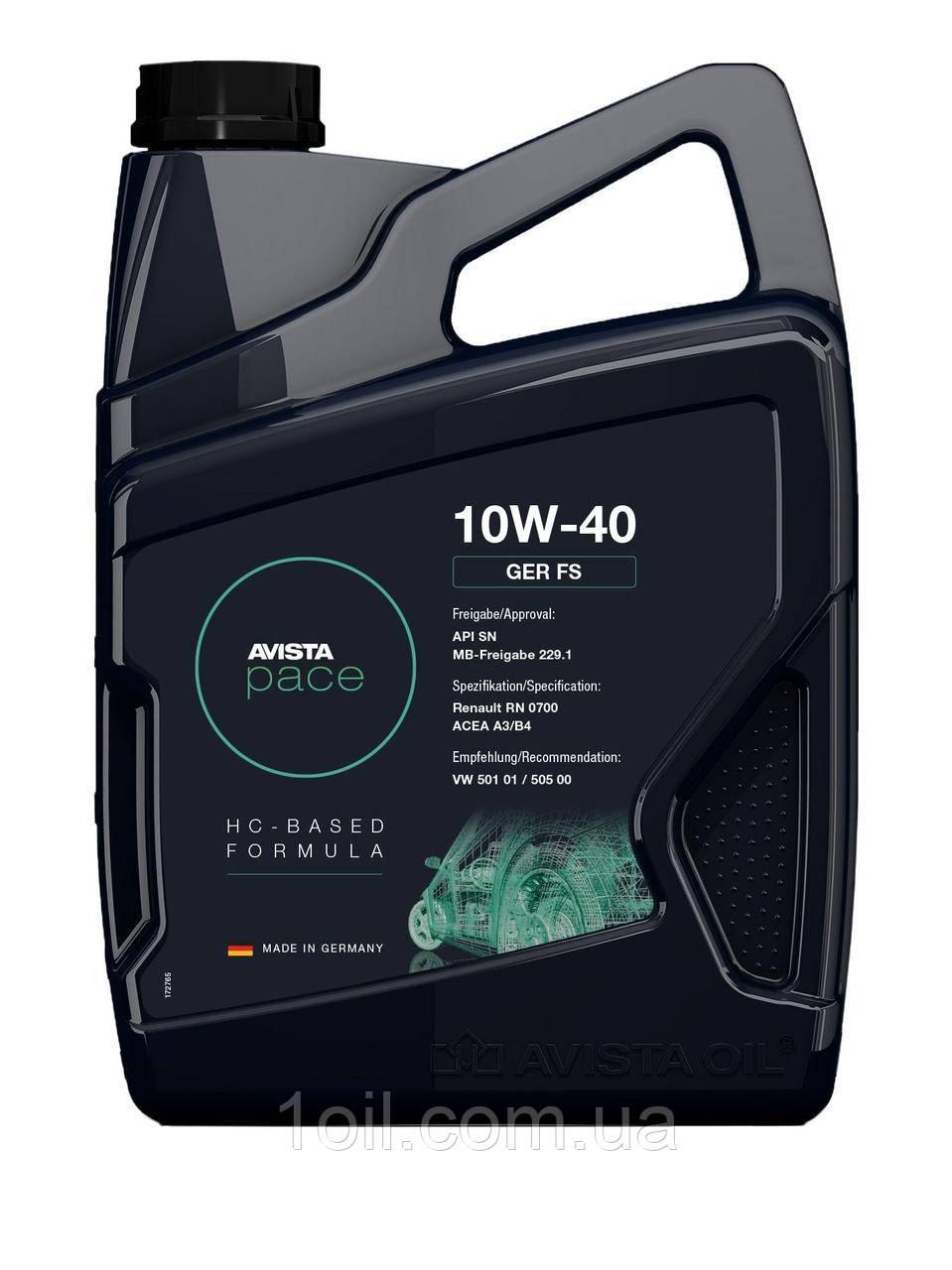Масло моторное Pennasol    (AVISTA OIL)  10w40 1л