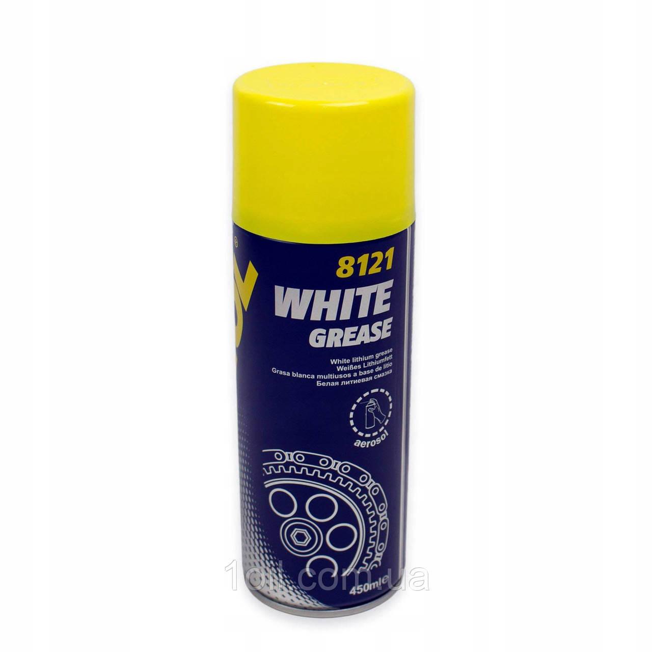 Mannol White Grease (біла мастило) 450мл 8121