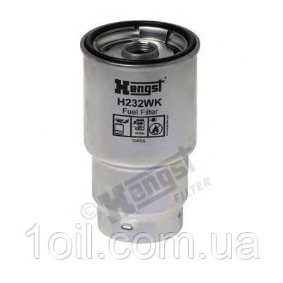 Фильтр топливный  HENGST H232WK  (аналог KC100D)