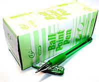 """Ручки шариковые """"Tianjiao"""" TY-501P (24шт/уп) зеленые"""