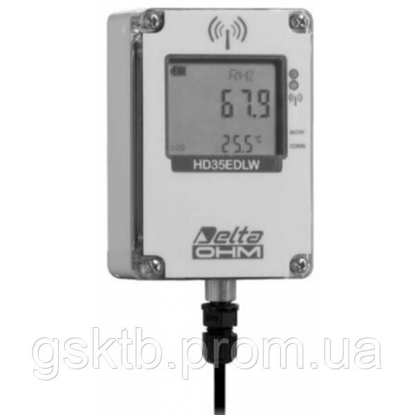 Delta OHM HD35EDWN/1TC водонепроницаемый, WiFi регистратор температуры для выносных датчиков (NTC10KΩ)