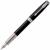 Ручка Parker Перьевая SONNET 17 Black Lacquer CT FP F (86 111) (3501179483122)