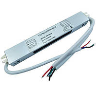 Влагостойкий LED повторитель 12-24в 3А канал общий анод для RGB светодиодных лент RP306W IP66 EUCHIPS 4082