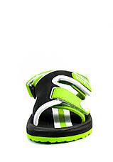 Сандали детские Bitis 9954-S черно-зеленые (22), фото 2