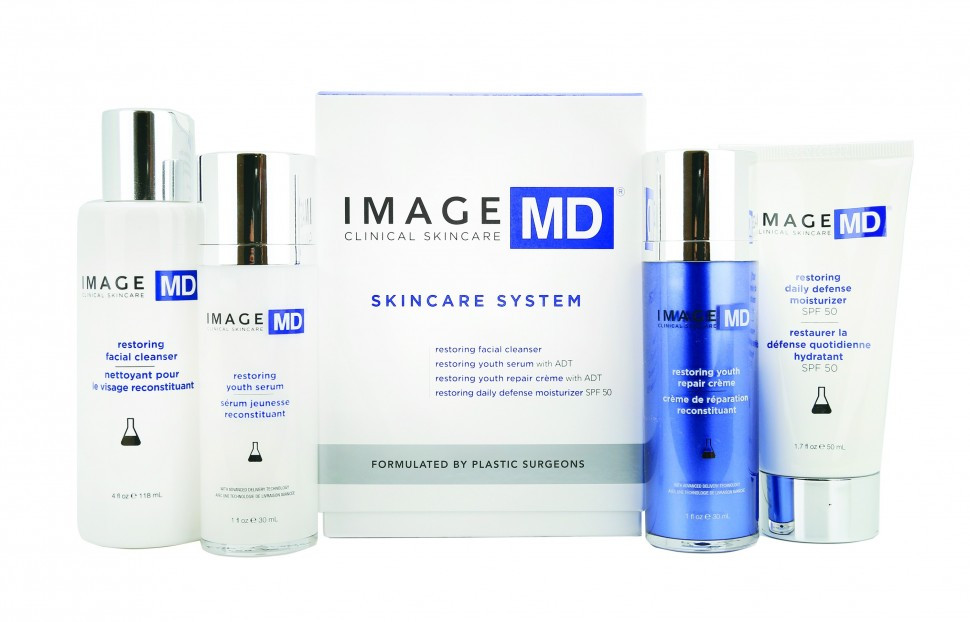 Базовый набор Image Skincare MD Skincare System (f/gel/118ml + serum/30ml + f/cream/30ml + d/f/cream/50ml)