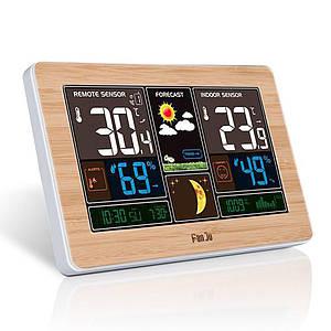 Багатофункціональна цифрова метеостанція FanJu FJ3378 з термометром, гігрометром і барометром і портом USB